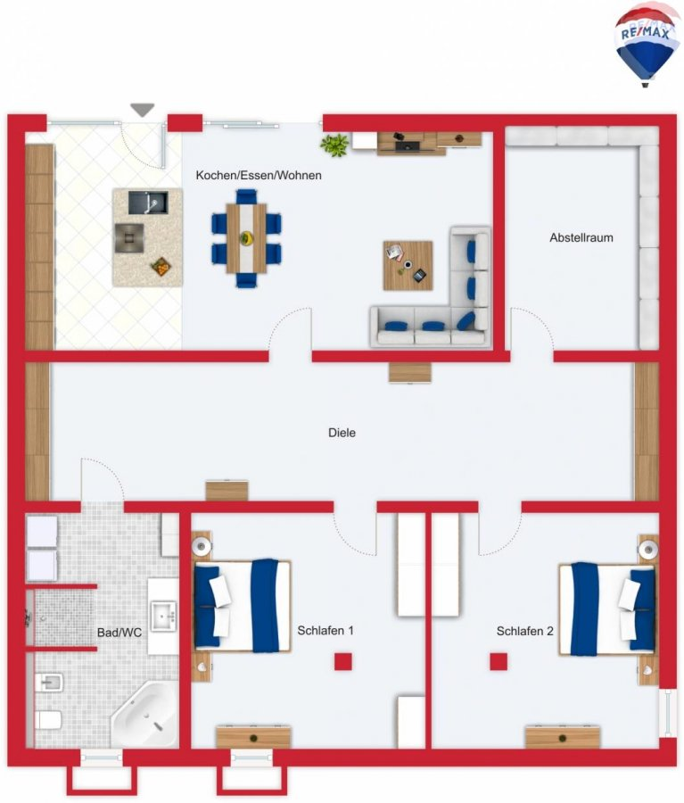 wohnung kaufen 3 zimmer 165 m² beckingen foto 3