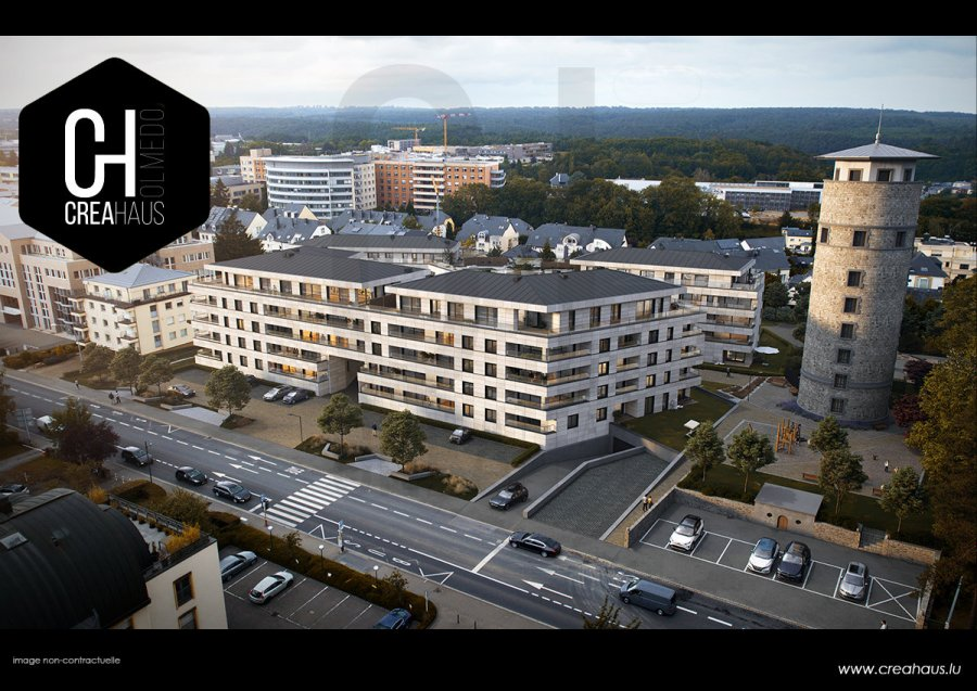 acheter appartement 1 chambre 41.77 m² luxembourg photo 1