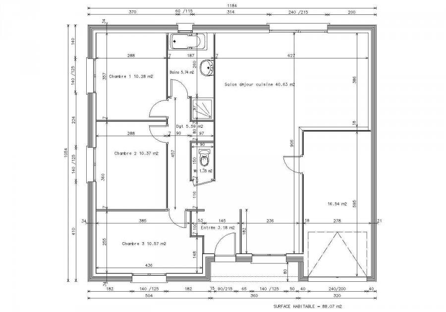 acheter maison 5 pièces 130 m² peltre photo 2