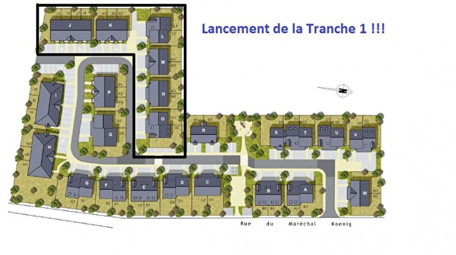 acheter appartement 3 pièces 66 m² amnéville photo 6