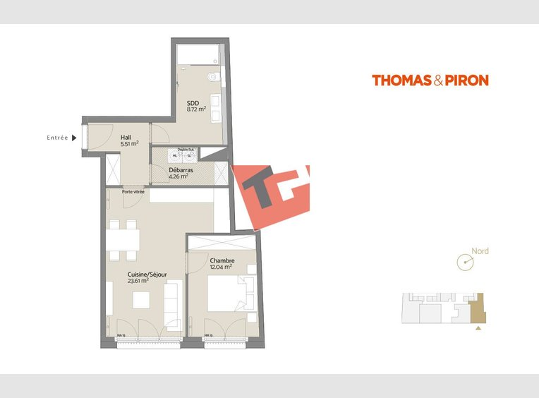 Apartment for sale 1 bedroom in Luxembourg (LU) - Ref. 7109054