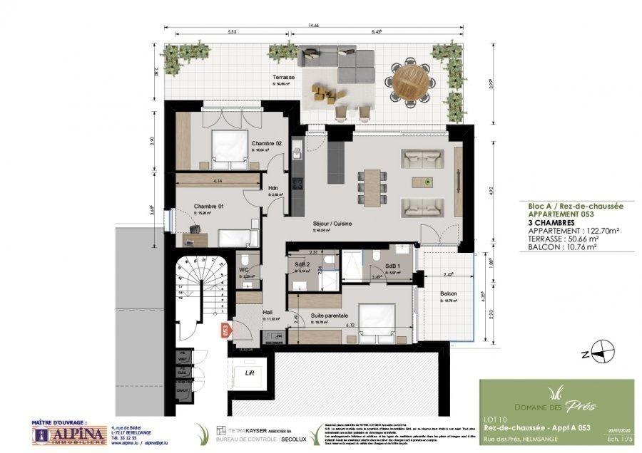 acheter appartement 3 chambres 122.67 m² walferdange photo 5