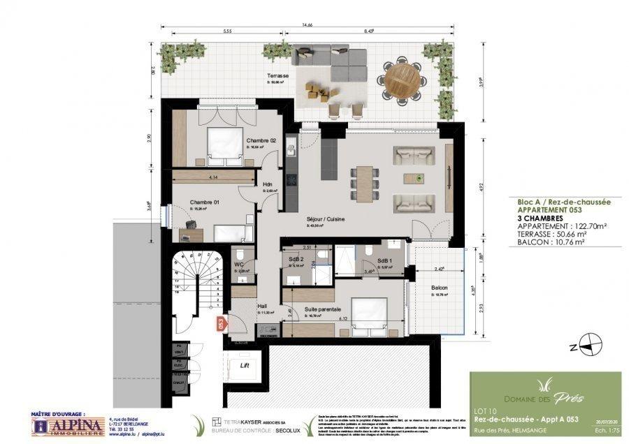 Appartement à vendre 3 chambres à Walferdange