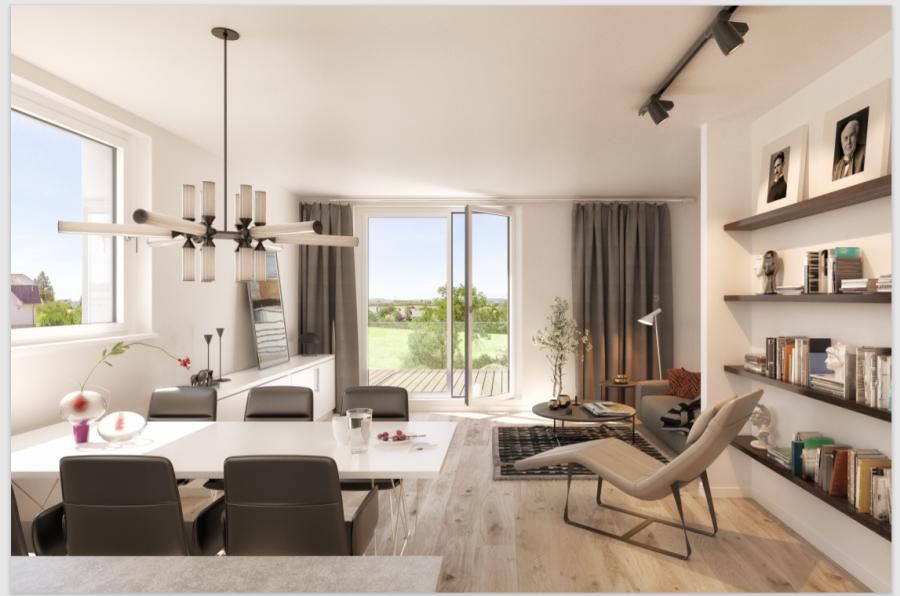 Penthouse à vendre 3 chambres à Frisange