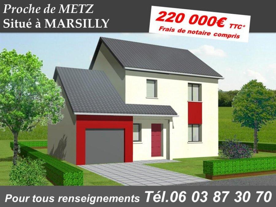 Maison individuelle en vente metz 103 m 220 000 for Chambre 57 metz