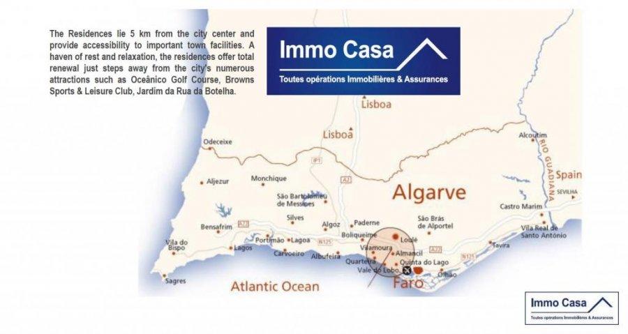 Appartement à vendre 3 chambres à Algarve