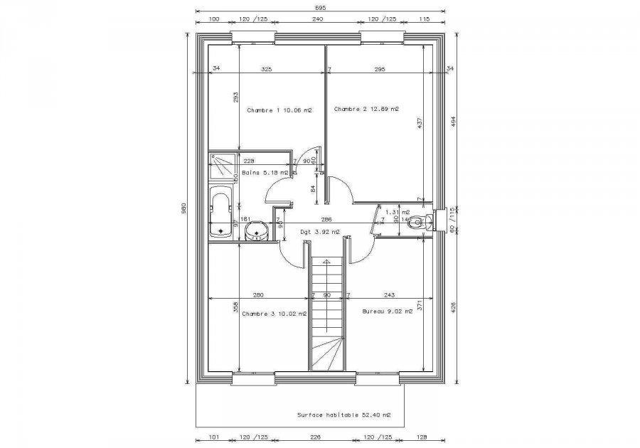 einfamilienhaus kaufen 6 zimmer 94 m² mécleuves foto 3
