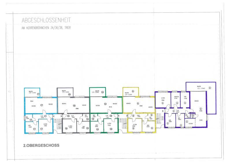 wohnung kaufen 3 zimmer 76.24 m² trier foto 5