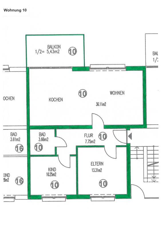 wohnung kaufen 3 zimmer 76.24 m² trier foto 3