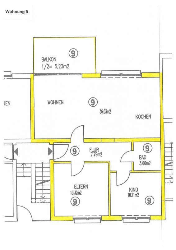 wohnung kaufen 3 zimmer 76.24 m² trier foto 2