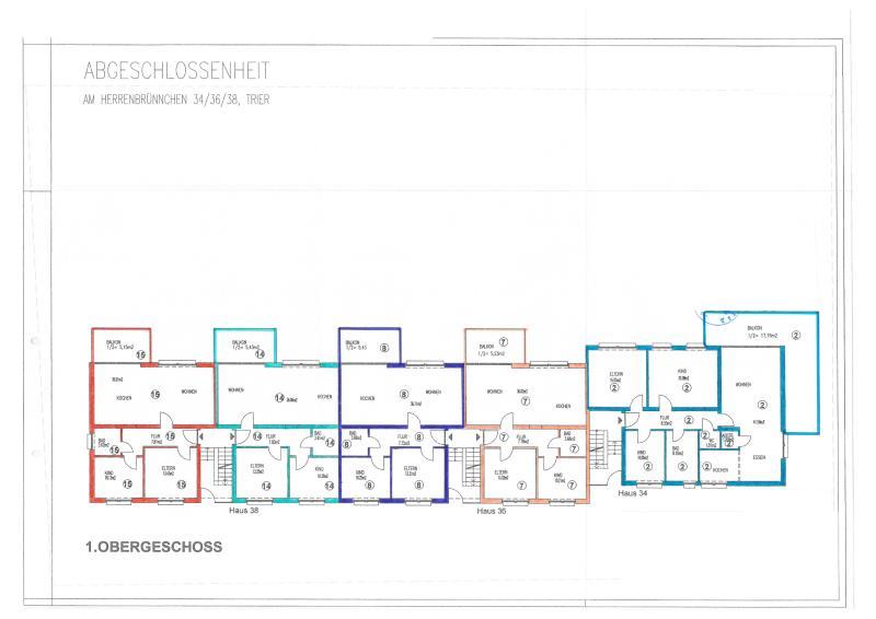 wohnung kaufen 3 zimmer 76.24 m² trier foto 4