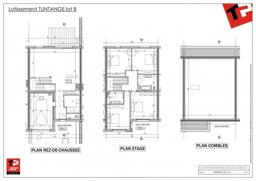acheter maison individuelle 4 chambres 152 m² tuntange photo 3
