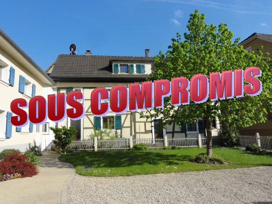 Maison à vendre F3 à Hagenthal le bas