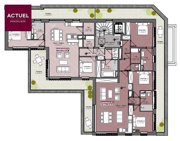 acheter penthouse 3 chambres 139 m² diekirch photo 4