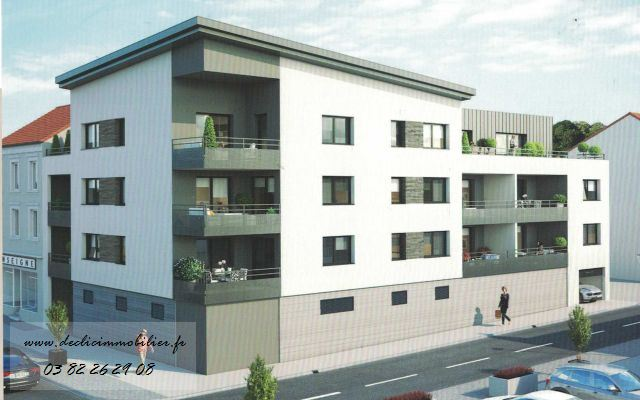 acheter appartement 4 pièces 106 m² longlaville photo 1
