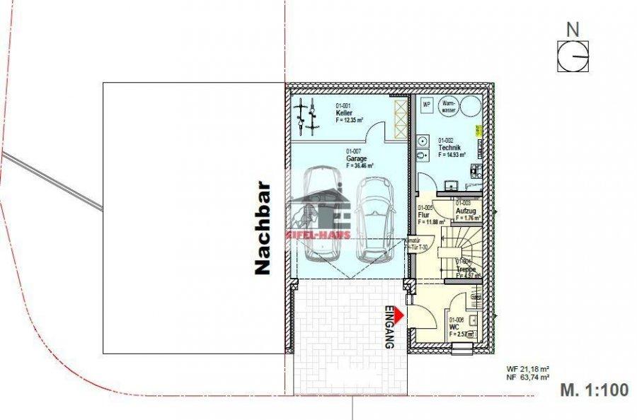 haus kaufen 3 schlafzimmer 213 m² wasserbillig foto 3