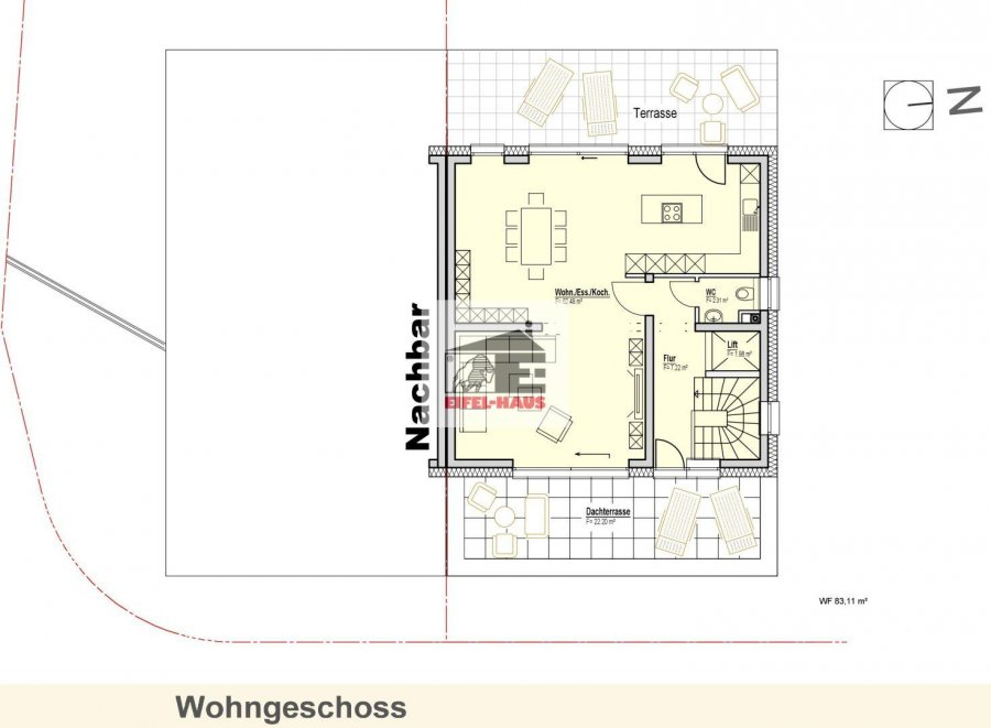 acheter maison 3 chambres 175.73 m² wasserbillig photo 3