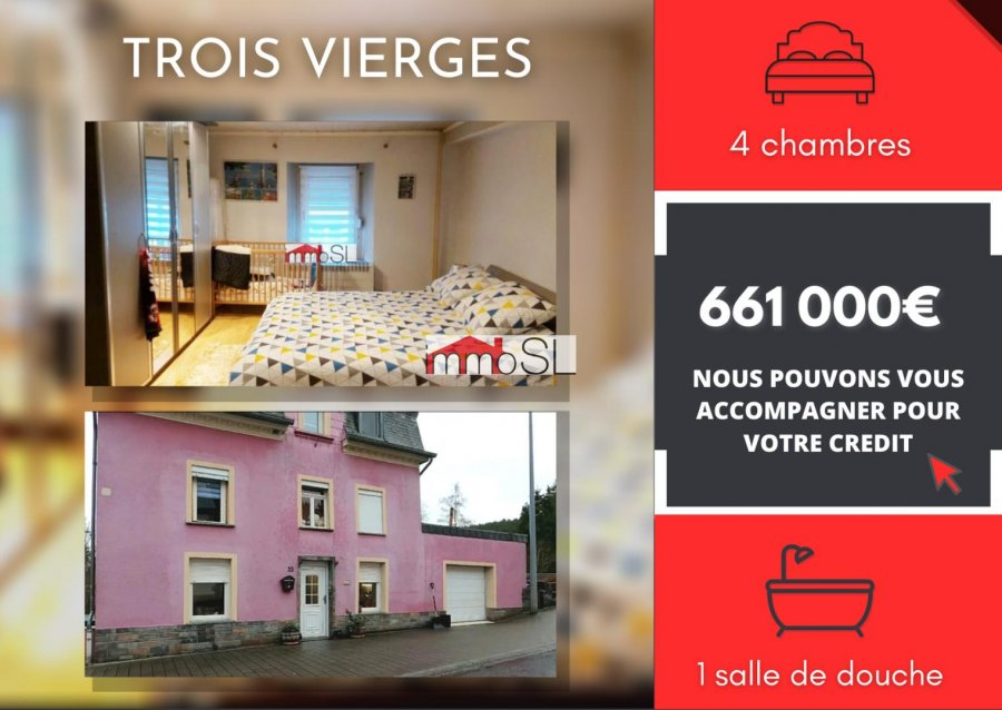acheter maison 4 chambres 0 m² troisvierges photo 1