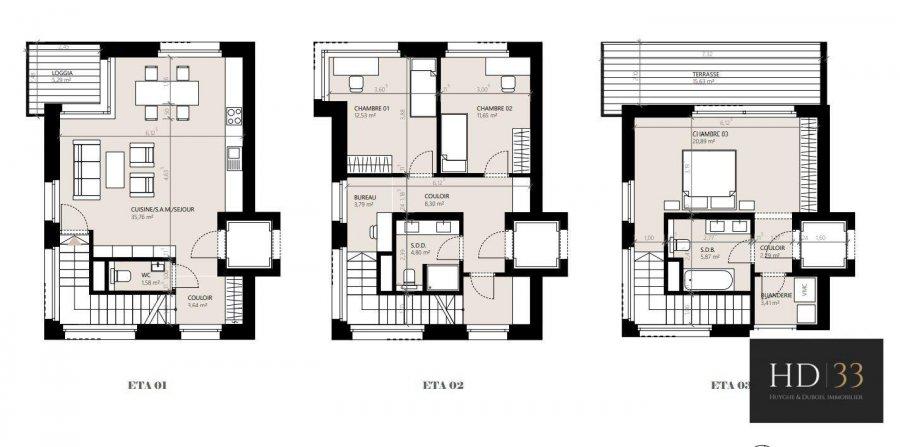 acheter maison jumelée 3 chambres 166 m² hesperange photo 3