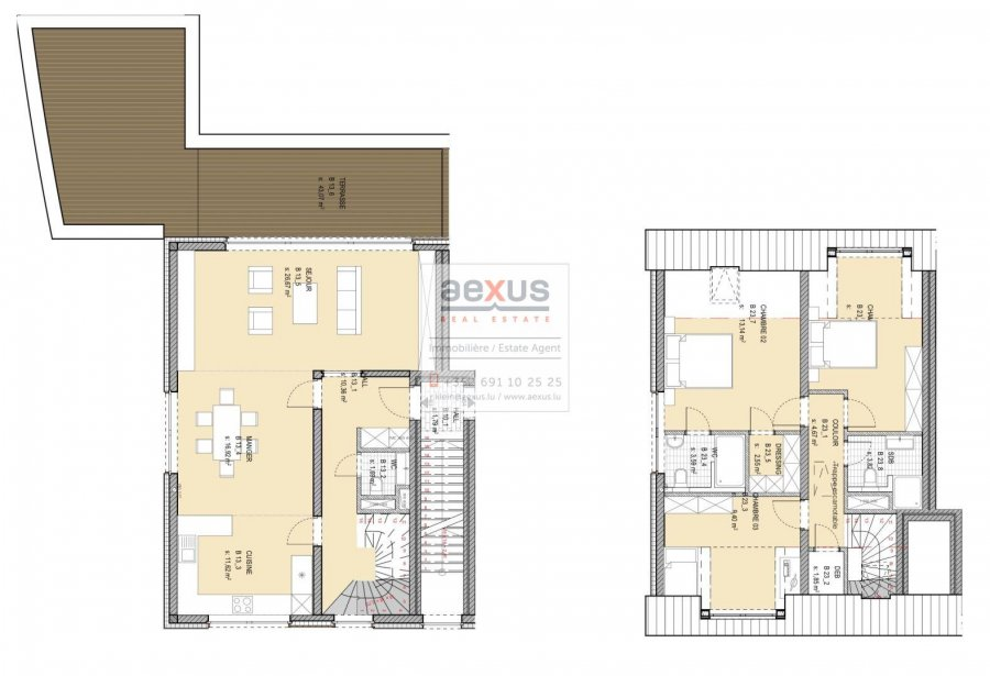 duplex for buy 3 bedrooms 120 m² niederanven photo 3