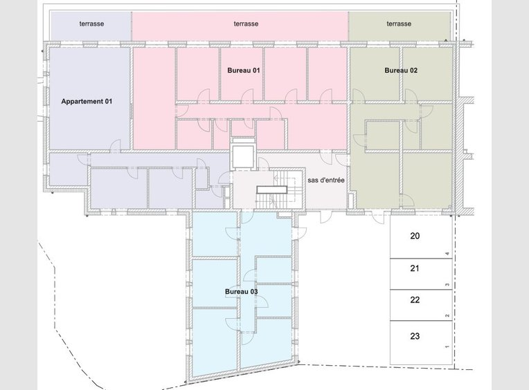 Bureau à vendre à Imbringen (LU) - Réf. 6421470