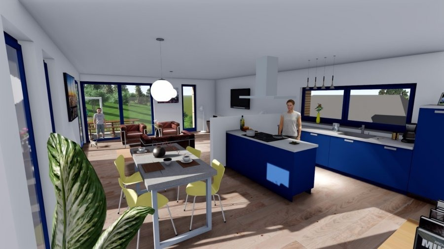 acheter maison individuelle 4 chambres 150 m² bollendorf-pont photo 6