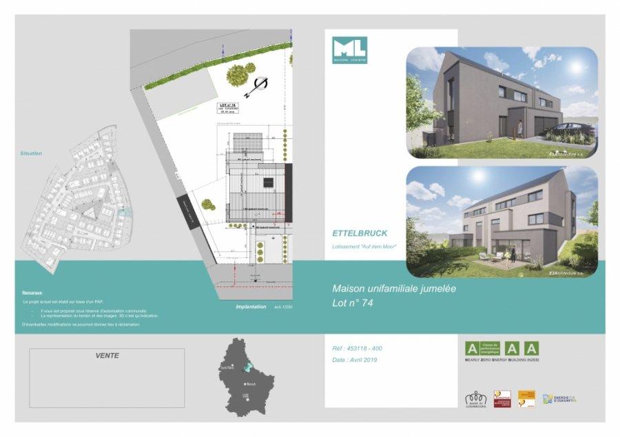 acheter maison jumelée 4 chambres 184 m² ettelbruck photo 3
