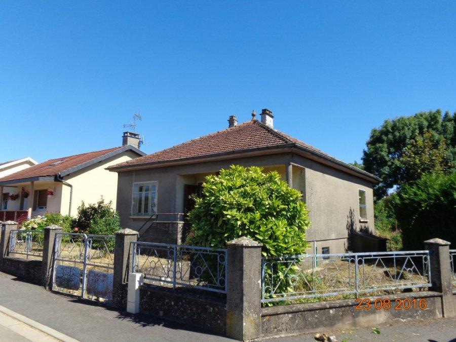 Maison individuelle à vendre 3 chambres à Mont-bonvillers