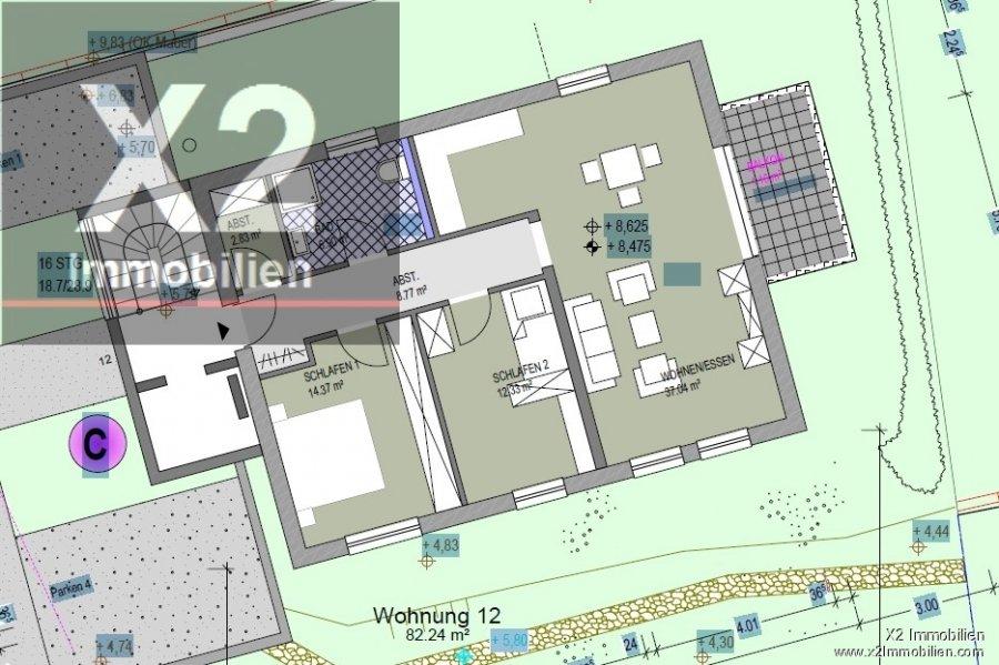 acheter appartement 3 pièces 157.58 m² konz photo 1