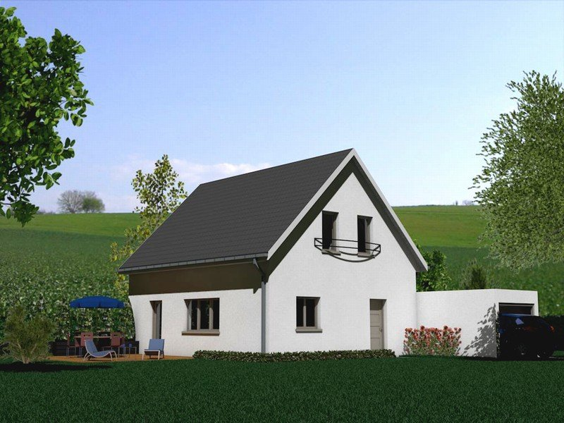 Maison à vendre F5 à Hagenthal le haut
