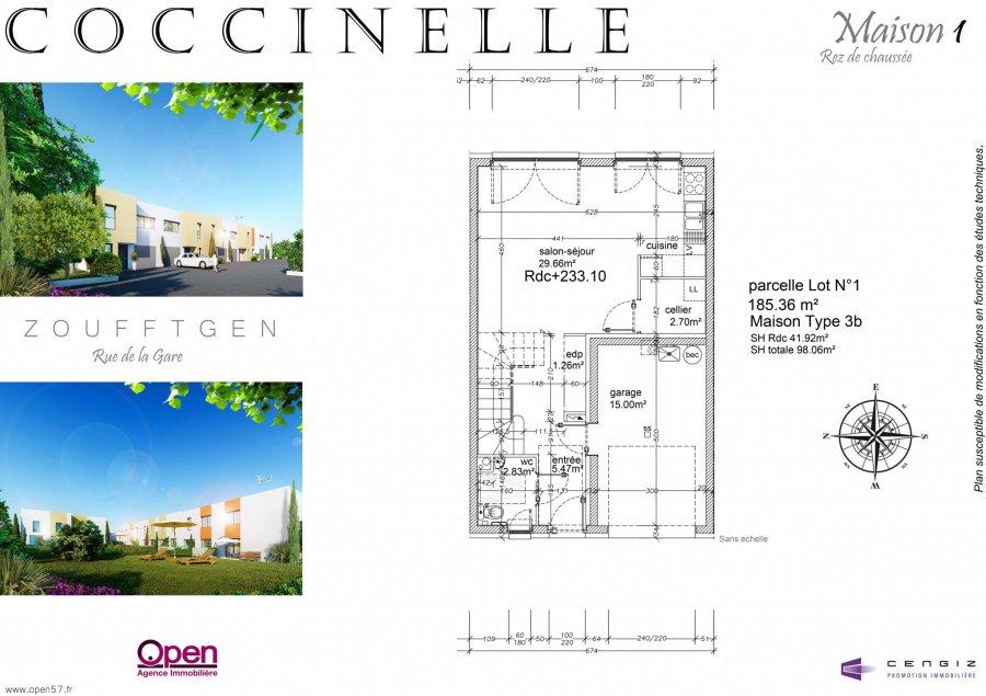 acheter maison 5 pièces 96.82 m² zoufftgen photo 6
