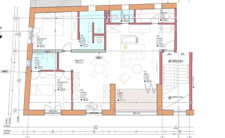 apartment for rent 2 bedrooms 103 m² stegen photo 3
