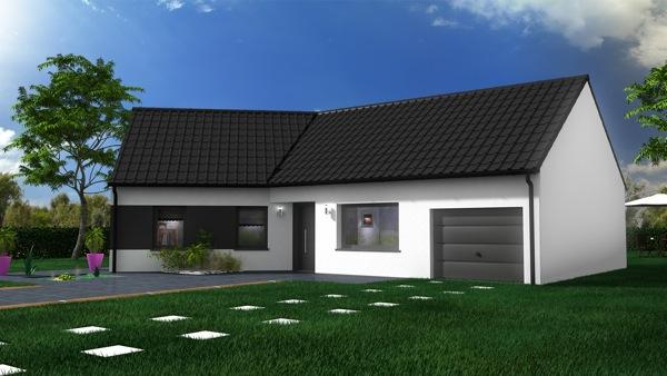 Maison individuelle en vente auby 88 m 158 300 for Maison individuelle a acheter