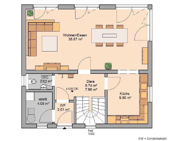 haus kaufen 4 zimmer 118 m² hermeskeil foto 3