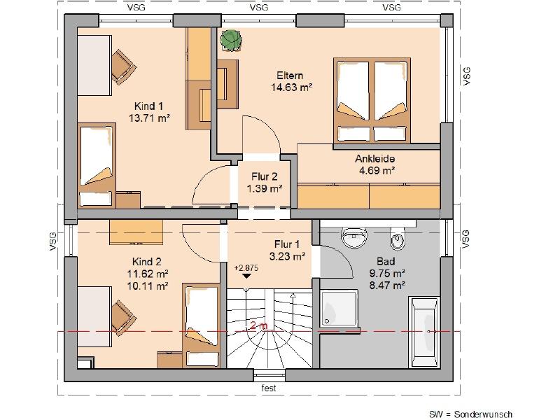 haus kaufen 4 zimmer 118 m² hermeskeil foto 4