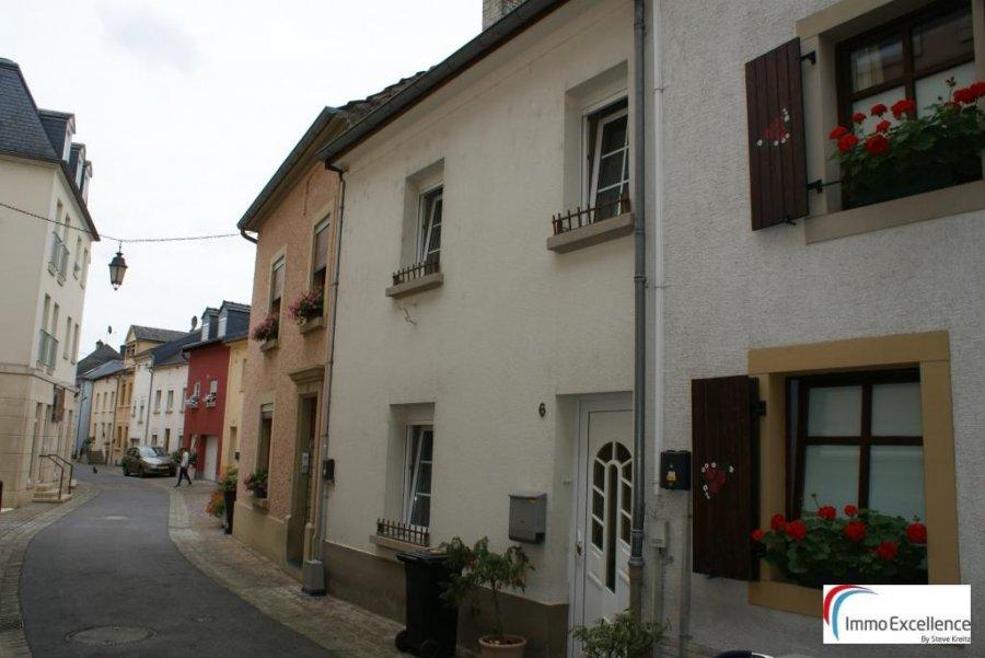 Maison mitoyenne à vendre 3 chambres à Echternach