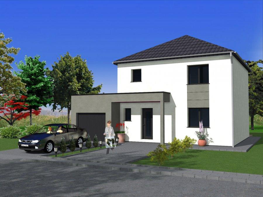 Maison individuelle en vente folschviller 105 m 192 for Maison individuelle a acheter