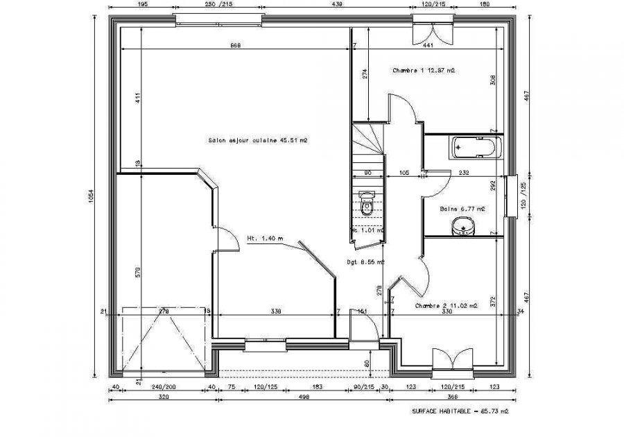 acheter maison individuelle 6 pièces 130 m² beuveille photo 2