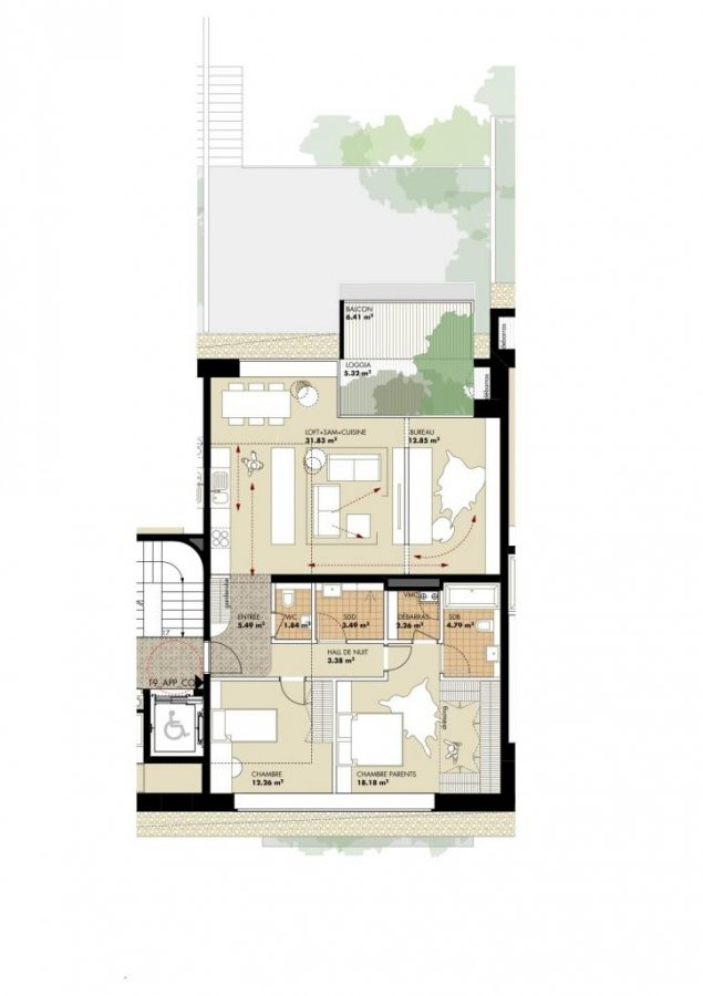 loft for buy 2 bedrooms 103 m² bettembourg photo 4