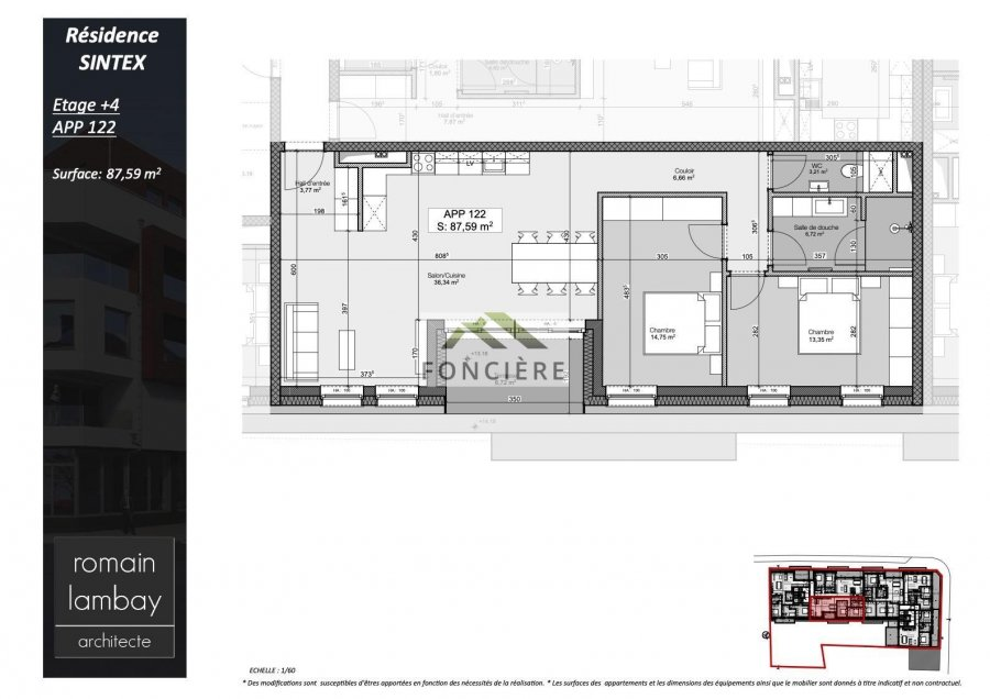 penthouse for buy 2 bedrooms 90.27 m² luxembourg photo 5