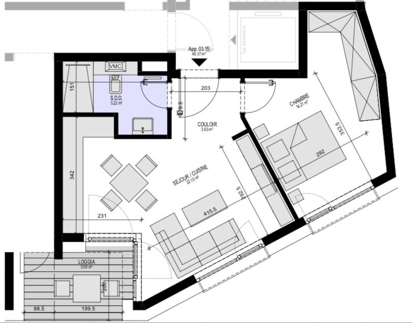apartment for buy 1 bedroom 55.4 m² luxembourg photo 4