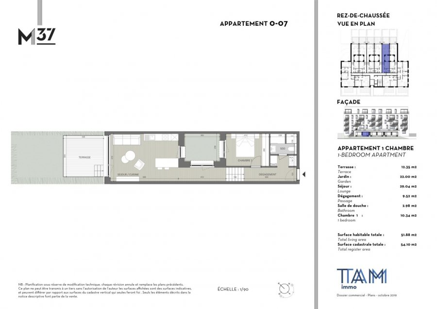 apartment for buy 1 bedroom 51.88 m² luxembourg photo 2