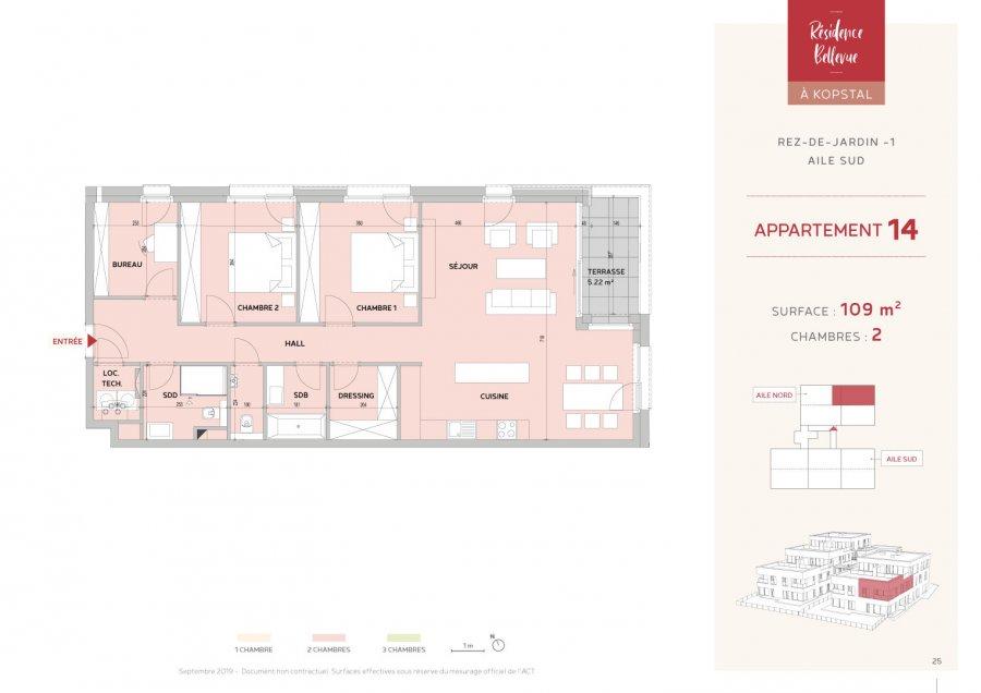 acheter appartement 2 chambres 109 m² kopstal photo 2