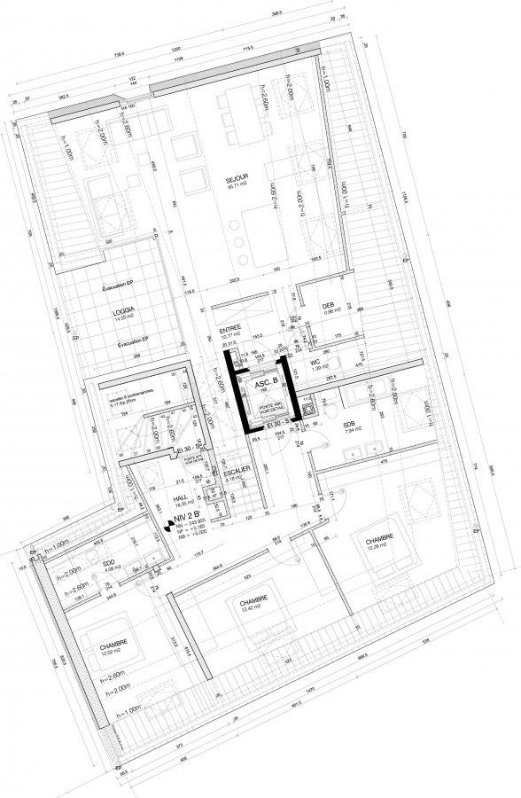 Duplex à vendre 3 chambres à Aspelt