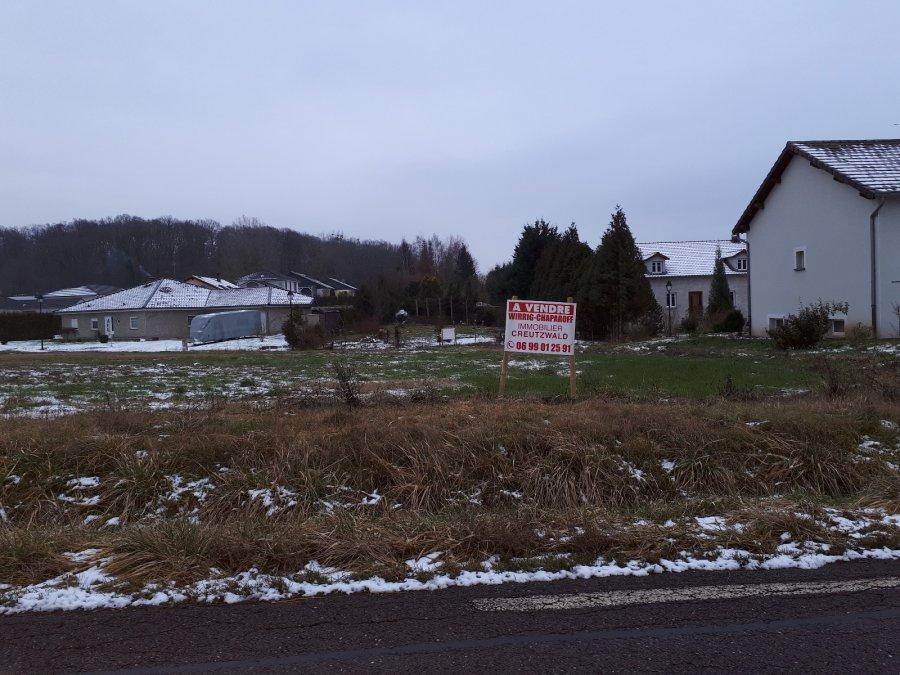 Terrain constructible à vendre à Neunkirchen-lès-Bouzonville