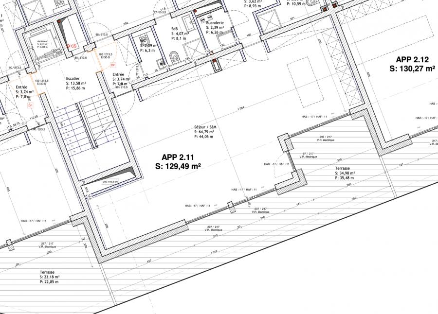 acheter appartement 3 chambres 131.83 m² mondorf-les-bains photo 2