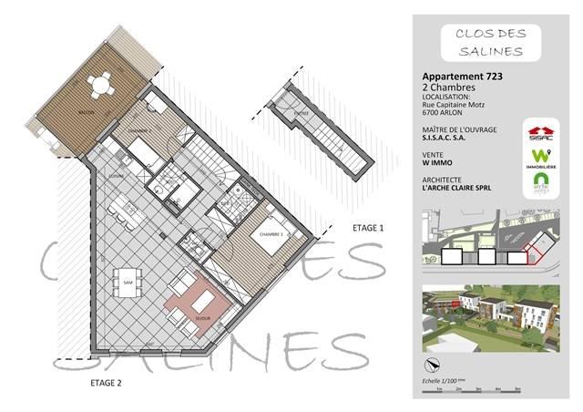 wohnung kaufen 0 zimmer 107 m² arlon foto 1