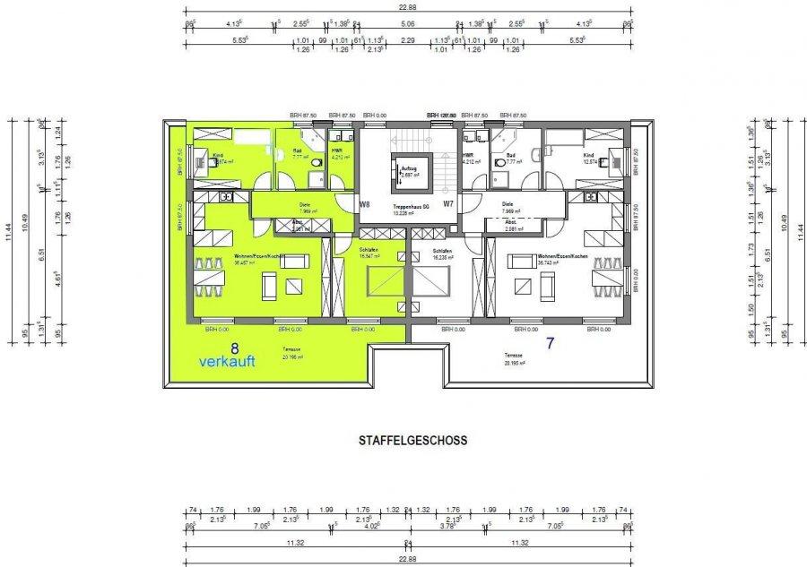 acheter penthouse 3 pièces 110 m² merzig photo 2