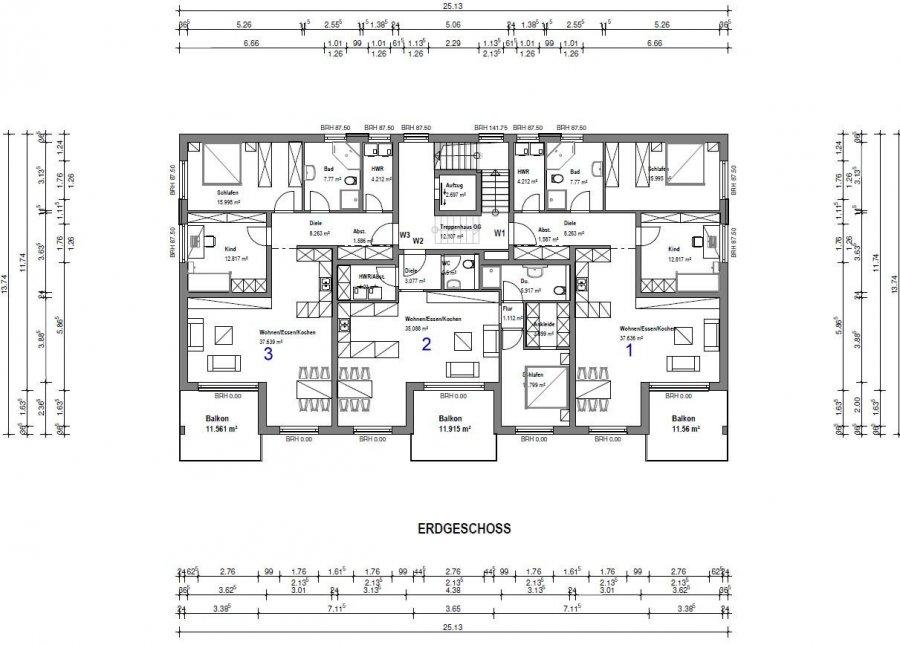 acheter penthouse 3 pièces 110 m² merzig photo 4