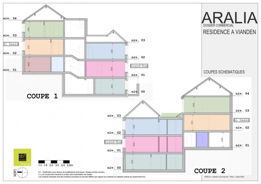 Appartement à vendre 2 chambres à Vianden